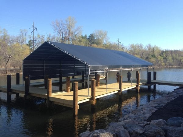 Permanent Piling Dock | Niccum Docks